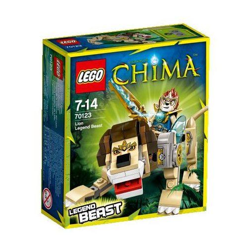 70123 LEGO - Chima - Laval - Legendás Vad Oroszlán