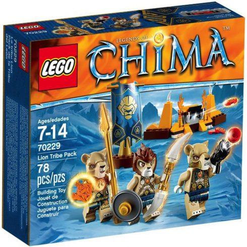 70229 LEGO - Chima - Oroszlán törzs csapata