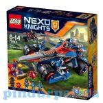 Építőjátékok - Építőkockák - 70315 LEGO Nexo Knights Clay dübörgő pengéje