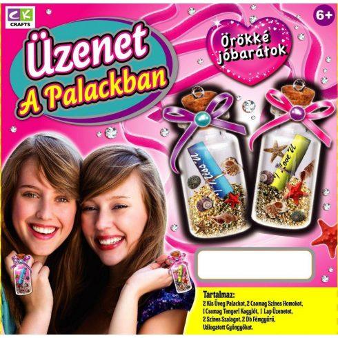 Kreatív hobby - Készletek - palackposta