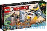 LEGO Ninjago - A Lego nindzsák harca - 70609 LEGO Ninjago Manta Ray bombázó