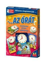 Társasjátékok gyerekeknek - Játszva megismerjük az órát