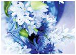 Írószerek-iskolaszerek - Virágos képeslap