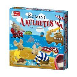 Társasjátékok gyerekeknek - Taktikai játék - Rumini A küldetés