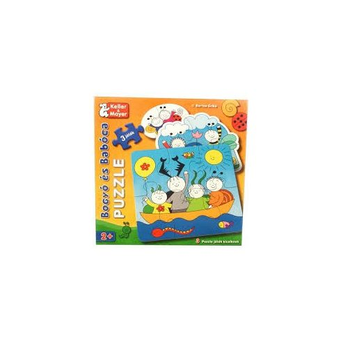 Baba puzzle - Bogyó és Babóca kirakós játék 3 in 1