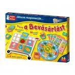 Társasjátékok gyerekeknek - Játszva megismerjük a bevásárlást