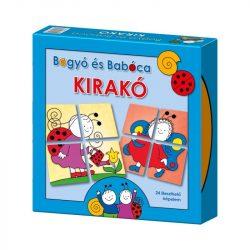 Gyerek Puzzle - Kirakósok - Bogyó és Babóca Kirakó