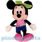 Plüss mesefigurák - Plüss mesehősök - Plüss Minnie egér lógó lábú 20cm Disney