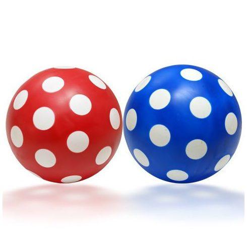 Kerti Játékok - Labdák - Pöttyös labda 14 cm