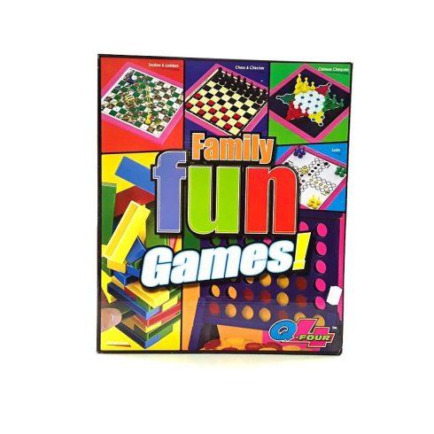 Társasjátékok - Családi társasjátékok - Családi társasjáték 7in1