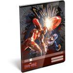 Füzetek - Tűzött füzet, A4, vonalas, Captain America Civil War
