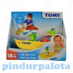 Pancsolós játékok - Fürdetős játékok babáknak - Tomy krokodil pancsi kaland