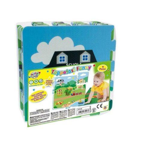 Baby kirakók - Szivacs puzzle kisváros