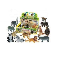 Állat figurák - Állatfigura szavanna puha és elasztikus anyagból