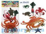 Állat figurák - Óceáni játék figura szett műanyag 8db
