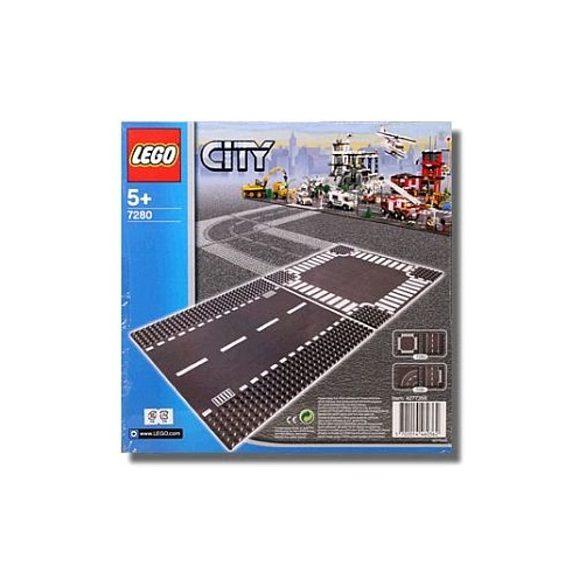7280 LEGO - Egyenes út és keresztező