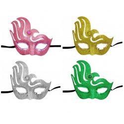 Jelmezek - Jelmez kiegészítők - Glitteres szemálarc jelmez több színben