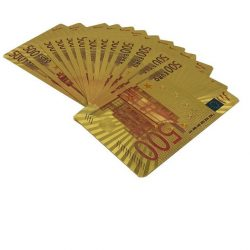 Klasszikus kártyapaklik - Römi kártya plasztik Eurós