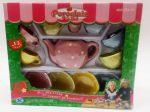 Szerepjátékok - Lányoknak - Porcelán teás készlet pöttyös