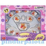 Szerepjátékok - Konyha - Porcelán teás készlet macis