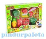 Főzőcskés játékok - Szeletelhető élelmiszerek
