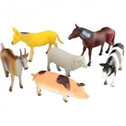 Állat figurák - Háziállatok - Farm állatai műanyag figura