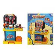 Fiús játékok - Barkács szett fénnyel és hanggal összezárható bőröndben