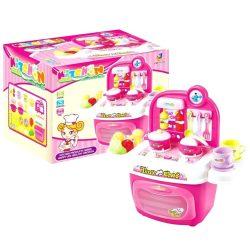 Játék konyhák - Konyha szett rózsaszín