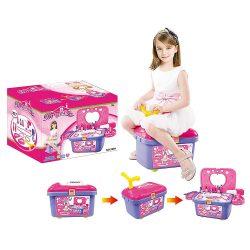 Lányos játékok - Guruló kozmetikai szépségszett