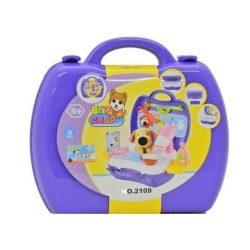 Szerepjátékok - Kisállat gondozó szett bőröndben