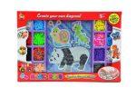 Fűzős játékok gyerekeknek - Gyöngyök - Gyöngy szett állatos csiga-panda-szöcske