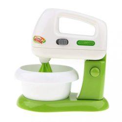 Játék konyhák - Konyhai eszközök - Játék konyhai mixer zöld-fehér színben Lovely Home