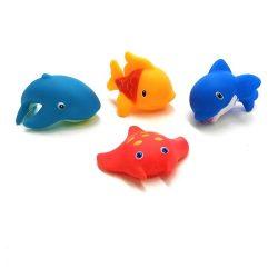 Pancsolós játékok - Tengeri állatok fürdősjáték 4db-os