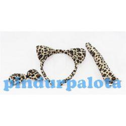 Jelmezek - Jelmez kiegészítők - Állati szettek foltos leopárd