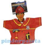 Jelmezek - Jelmez kiegészítők - Tűzoltókabát kiegészítőkkel