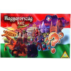 Társasjáték - Piatnik - Magyarország Kvíz - Junior