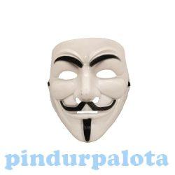 Jelmezek - Vendetta Anonimus műanyag álarc