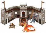Sárkányos játékok - Sárkányvár 2 sárkány figurával Bullyland