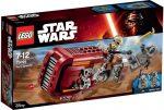 Építőjátékok - Építőkockák - 75099 LEGO - Star Wars - Rey siklója