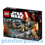 Építőjátékok - Építőkockák - 75131 LEGO Star Wars Ellenállás oldali harci csomag