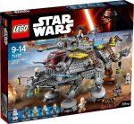 Építőjátékok - Építőkockák - 75157 LEGO Star Wars Rex kapitány AT-TE lépegetője