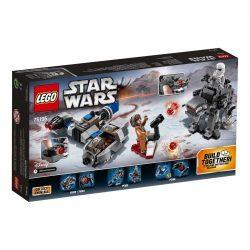LEGO Star Wars - 75195 LEGO Star Wars Ski Speeder vs Első Rendi Lépegető Microfighters