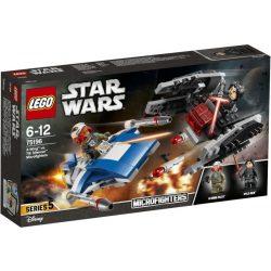 LEGO Star Wars - LEGO Start Wars 75196 A-szárnyú vs. TIE Silencer Microfighters