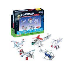 Építőjátékok gyerekeknek - Fából, Fémből, Műanyagból - Fém építő légi járművek (209db)
