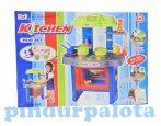 Játék konyhák - Fiús játékkonyha kiegészítőkkel