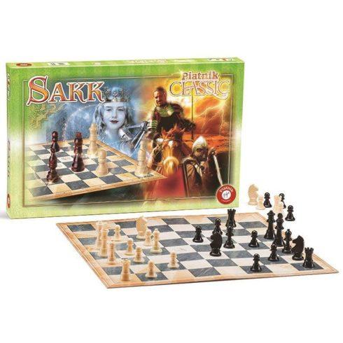 Családi társasjátékok - Sakk klasszikus - Piatnik