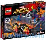 Építőjátékok - Építőkockák - 76058 LEGO Superheroes Pókember összefogás Szellemlovassal