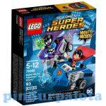 Építőjátékok - Építőkockák - 76068 LEGO Super Heroes Mighty Micros Superman és Bizarro összecsapása