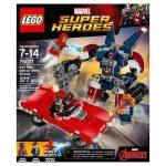 Lego - Lego Hero Factory - 76077 Lego Super Heroes vasember Detroet Steel támadása