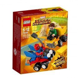 Lego Hero Factory - 76089 LEGO Super Heroes Mighty Micros Skarlát Pók és Homokember összecsapása